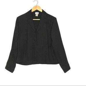 Eileen Fisher Vintage Silk Blazer